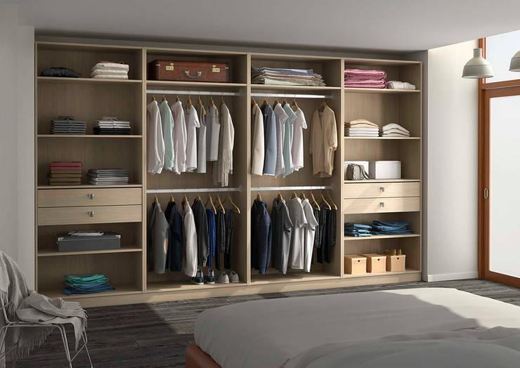 Placard-dressing: Chambre de style de style Moderne par Centimetre.com