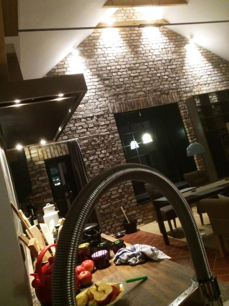 Dom : styl , w kategorii Kuchnia zaprojektowany przez modern studio architektury maciej rempalski,