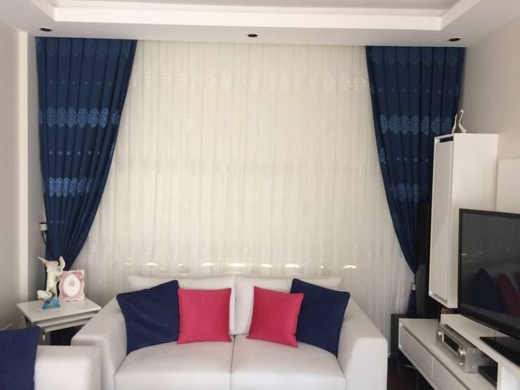 Perdecim - Mert Rodoplu – değişim güzeldir..:  tarz Oturma Odası, Modern