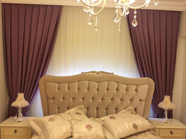Perdecim - Mert Rodoplu – değişim güzeldir..:  tarz Yatak Odası, Modern