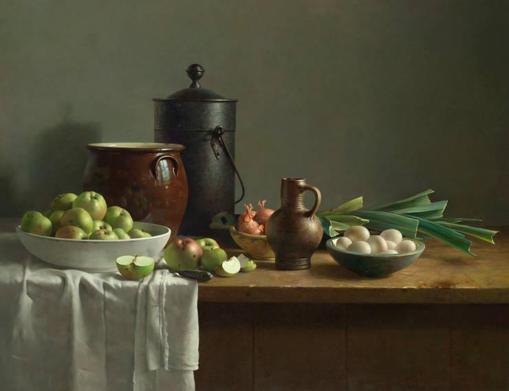 Groentestilleven:  Kunst  door Museum Helmantel