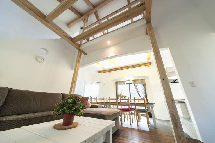 seed+ GUEST HOUSE  (ゲストハウスとして使える、モデルハウス): 拡運建設株式会社が手掛けたです。