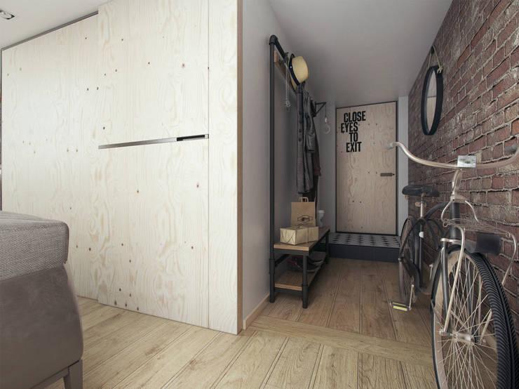 Pasillos, vestíbulos y escaleras industriales de The Goort Industrial