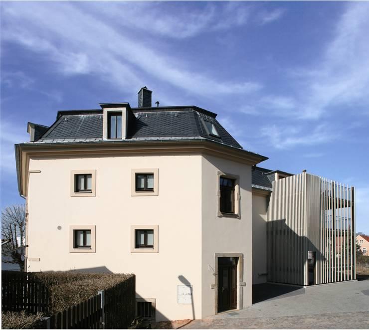 Projekty,  Domy zaprojektowane przez Planungsring Ressel GmbH