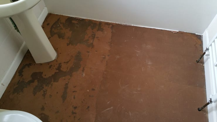 Floor - Before:   by Replace Your Bathroom