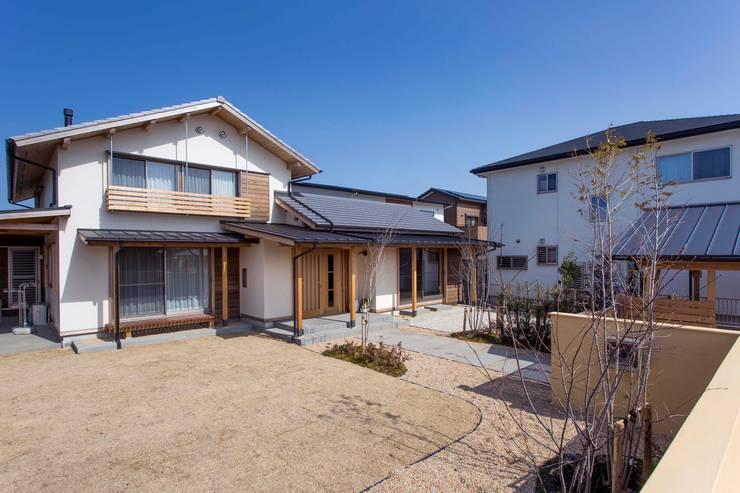 外観: shu建築設計事務所が手掛けた家です。