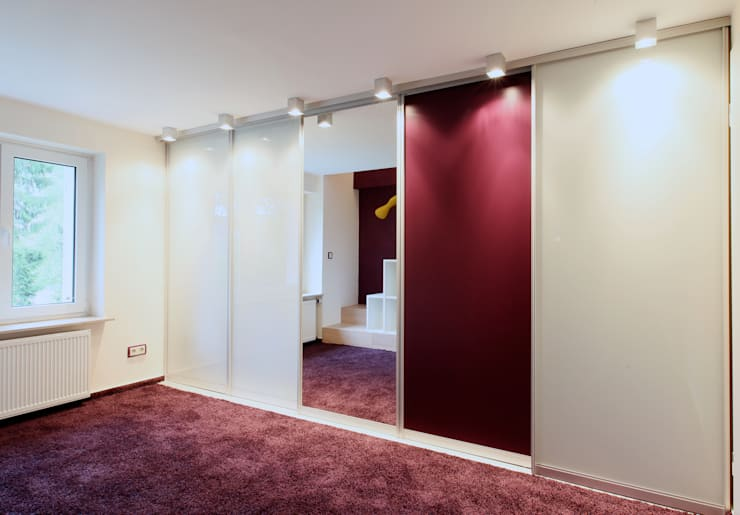 Kinderzimmer auf 2 Etagen: moderne Schlafzimmer von K&R Design GmbH