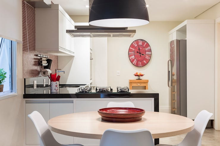 Cocinas de estilo  por Danielle Tassi Arquitetura e Interiores