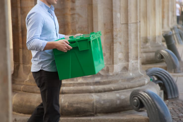 Boxen zum Umziehen:  Museen von Boxie24 Lagerraum