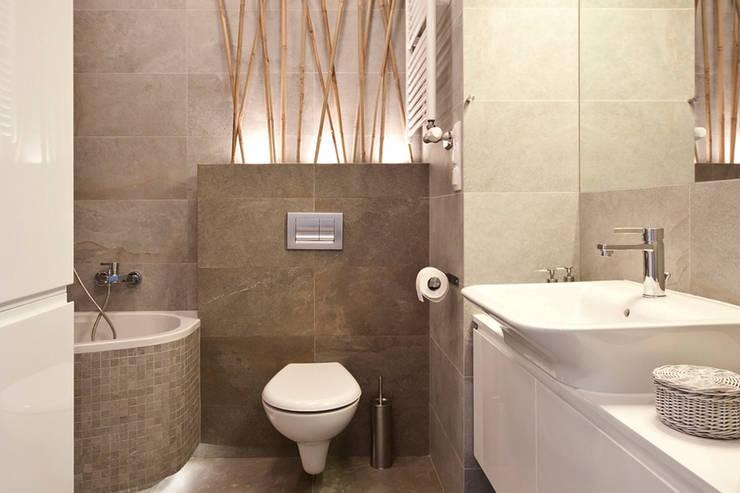 FUNKCJONALNE WNĘTRZE: styl , w kategorii Łazienka zaprojektowany przez IDAFO projektowanie wnętrz i wykończenie