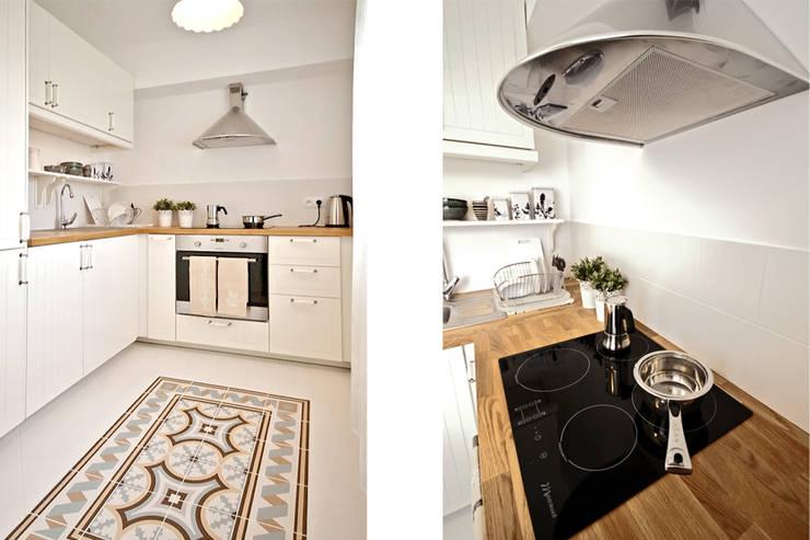 RUSTYKALNY STYL: styl , w kategorii Kuchnia zaprojektowany przez IDAFO projektowanie wnętrz i wykończenie