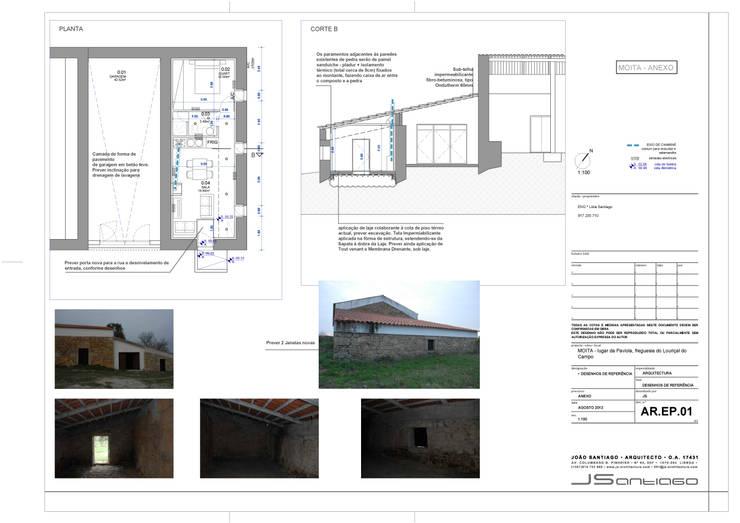 Desenhos: Casas  por JOÃO SANTIAGO - SERVIÇOS DE ARQUITECTURA