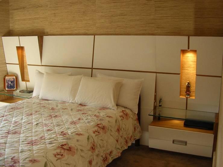 Nowoczesna sypialnia od studio luchetti Nowoczesny