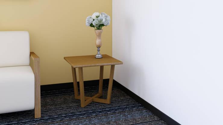Mesa Auxiliar: Recámaras de estilo  por diesco