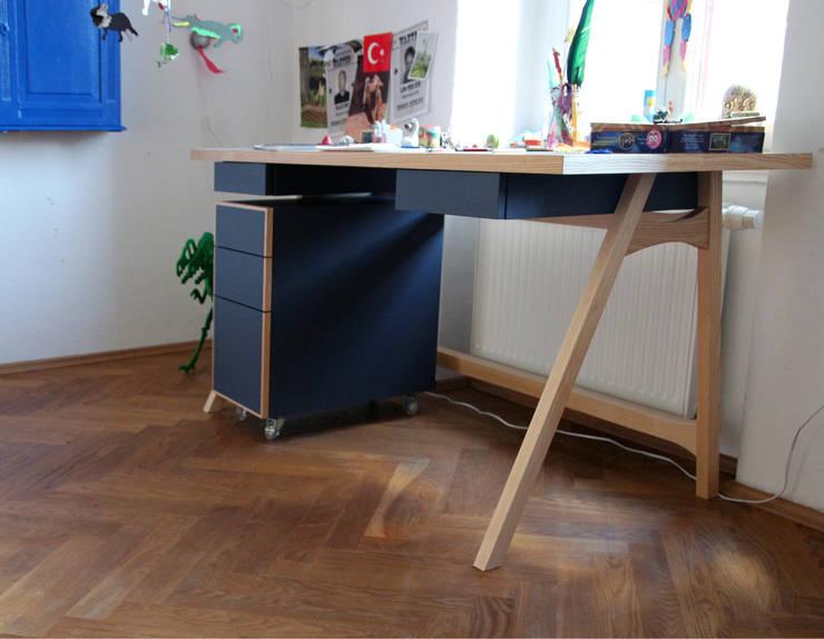 Möbelwerkstatt Cadot의  서재/사무실