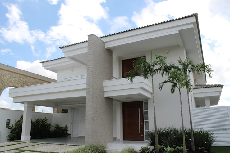 Casa MM: Casas modernas por Flavio Monteiro Arquitetos Associados
