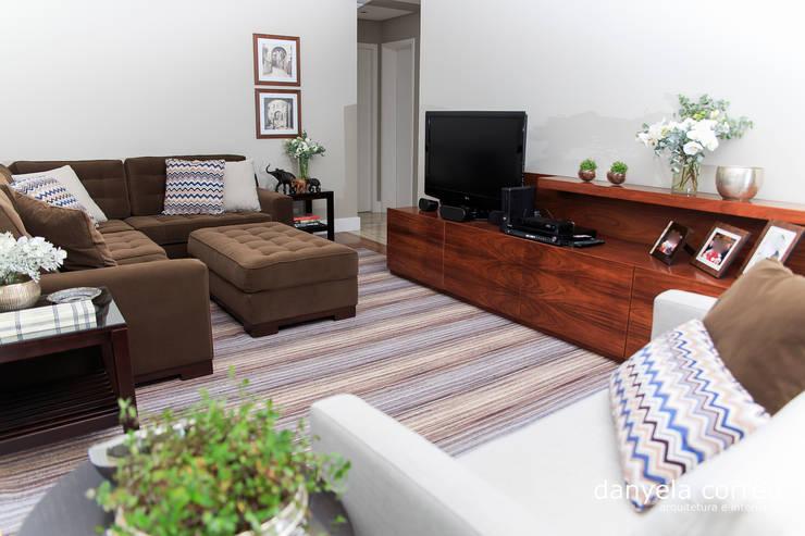 Projeto: Salas de estar  por Danyela Corrêa