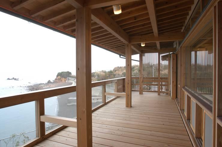 .: 徳弘・松澤建築事務所が手掛けたテラス・ベランダです。