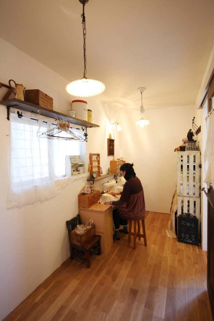 作業場: atelier mが手掛けた和室です。,