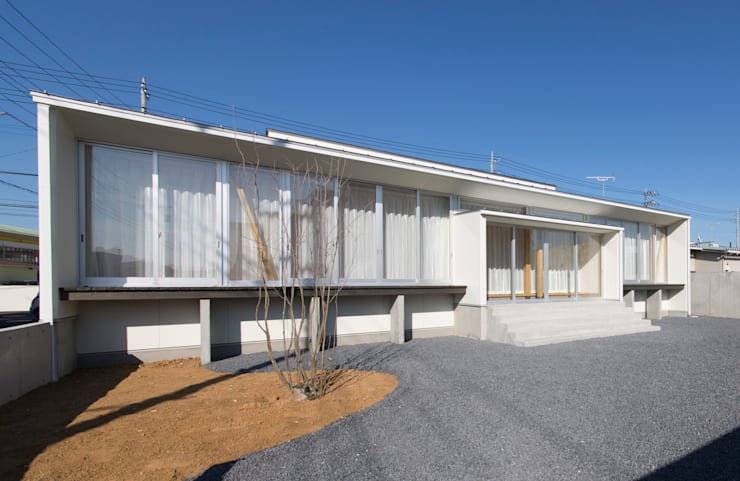 陽だまりの家: 有限会社 宮本建築アトリエが手掛けた家です。