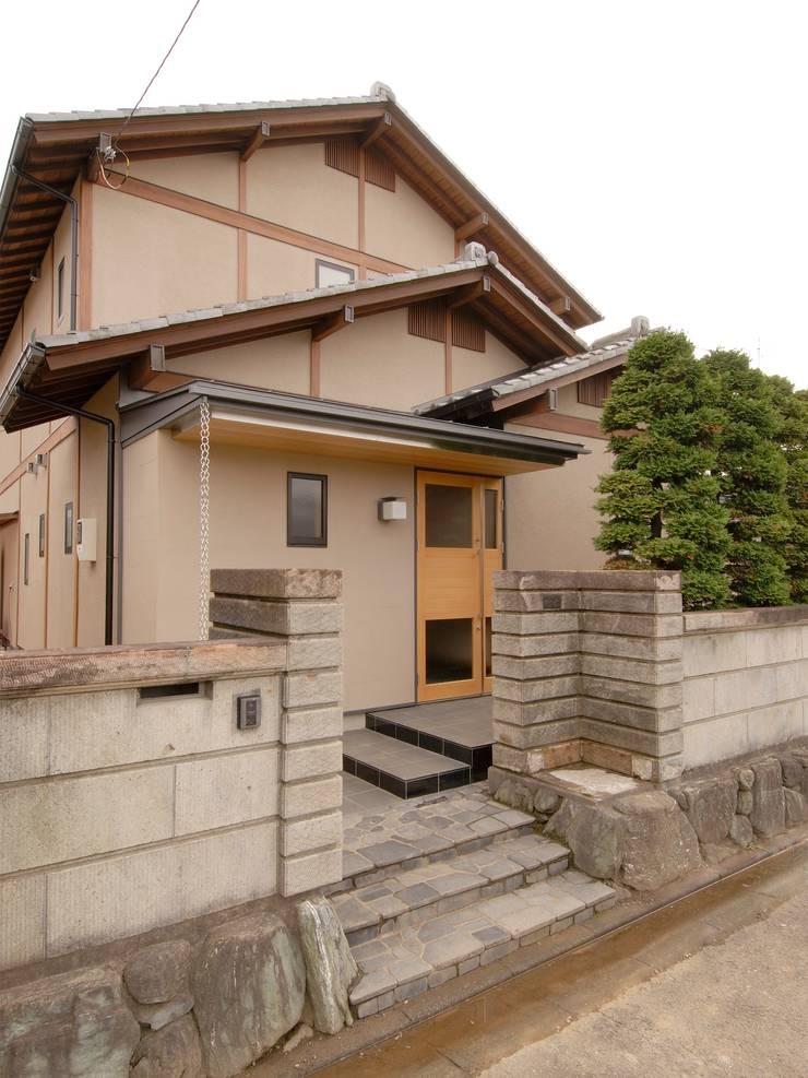 川越の住継ぐ家: 池野健建築設計室が手掛けた家です。,クラシック