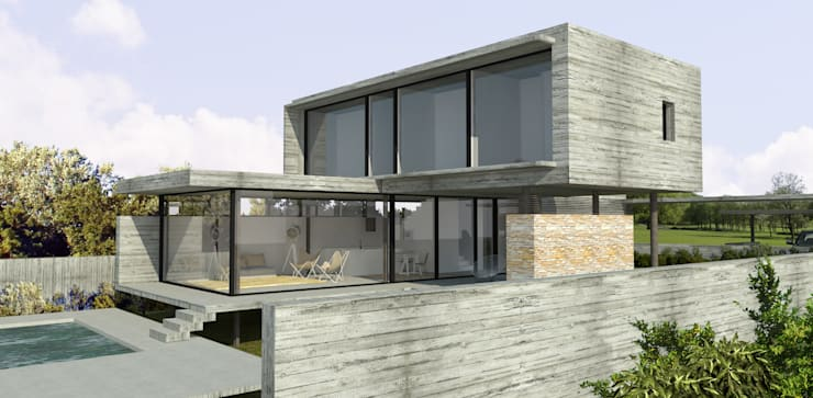 Houses by ESTUDIO BAO ARQUITECTURA