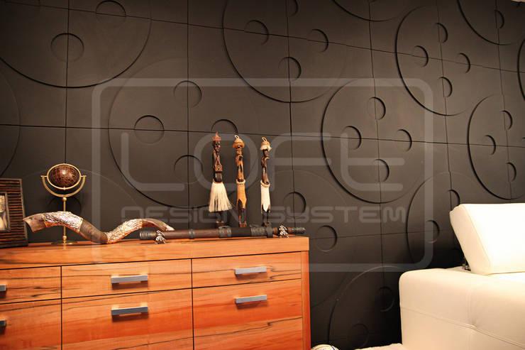 Panele Dekoracyjne 3D - Loft Design System - model Buttons: styl , w kategorii  zaprojektowany przez Loft Design System,Nowoczesny
