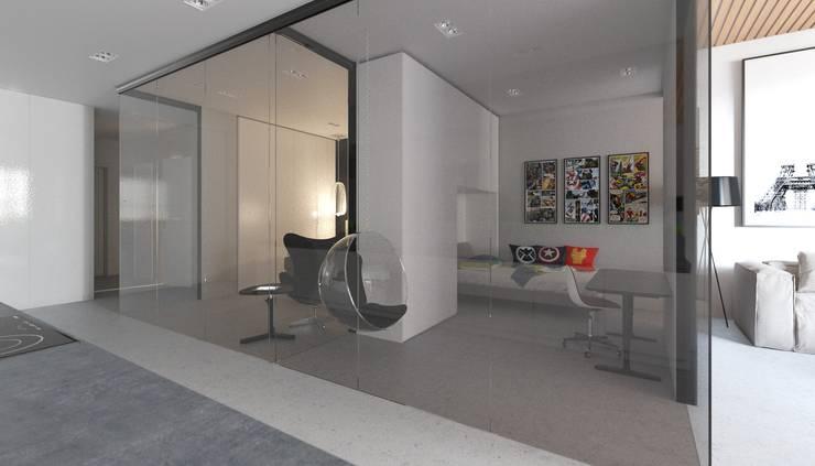 Апартаменты в стиле Лофт: Детские комнаты в . Автор – Архитектурное бюро DR House ,