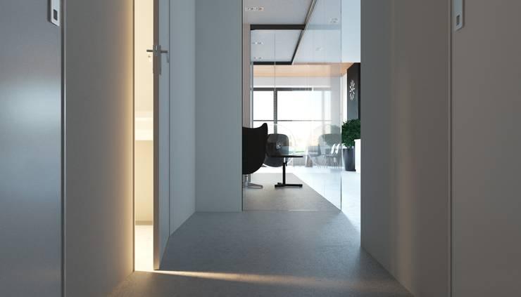 Апартаменты в стиле Лофт: Коридор и прихожая в . Автор – Архитектурное бюро DR House ,