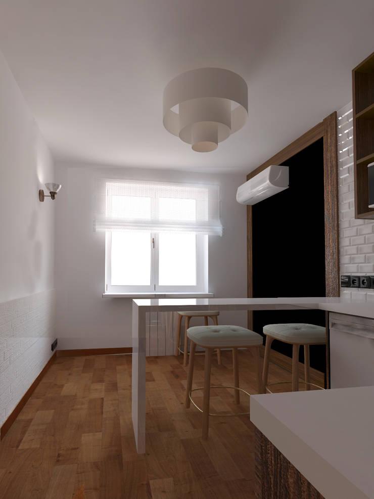 Кухня, вид1: Кухни в . Автор – Марина Козлова