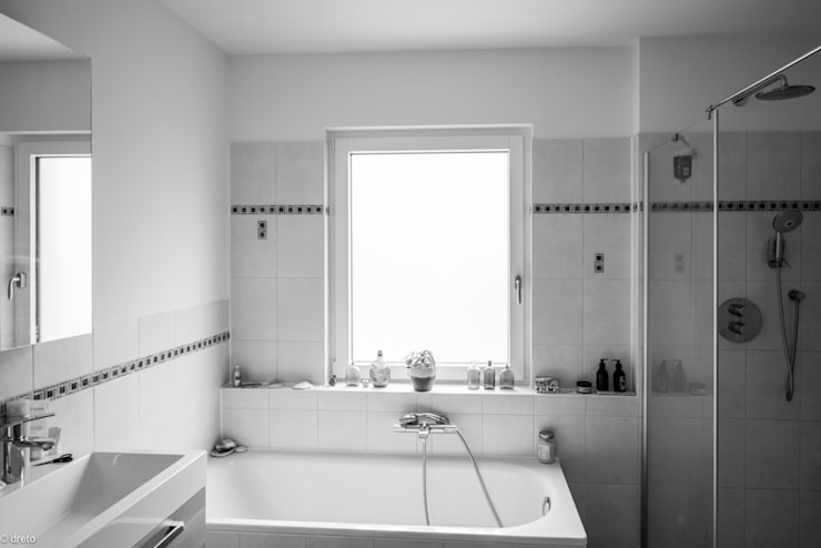 Bathroom by The Chase Architecture, Modern Ceramic
