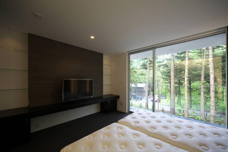 株式会社廣田悟建築設計事務所의  침실