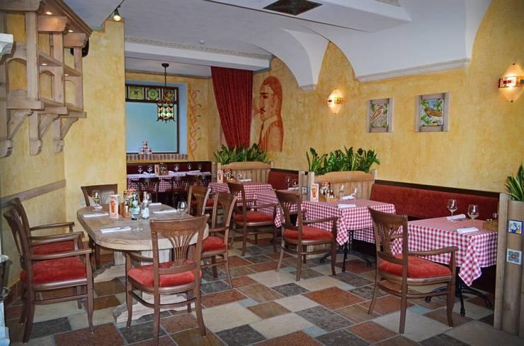 """1-й торговый зал ресторана """"МАМА РОМА"""".: Ресторации в . Автор –  Виктория Капитонова"""