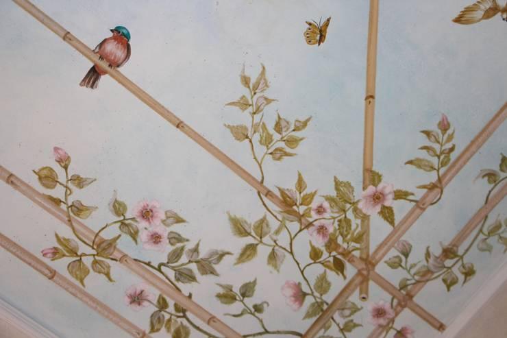 Pergolato di rose in cucina von Colori nel Tempo - decorazioni ...