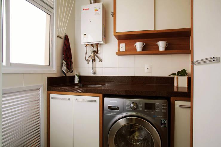 Área de Serviço: Cozinhas modernas por PIÇARRA E BRITO