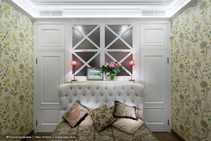Трехкомнатная квартира в центре Петербурга в традиционном стиле : Спальни в . Автор – Ольга Кулекина - New Interior