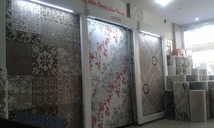 onur halı dekorasyon – Onur Halı:  tarz Duvar & Zemin