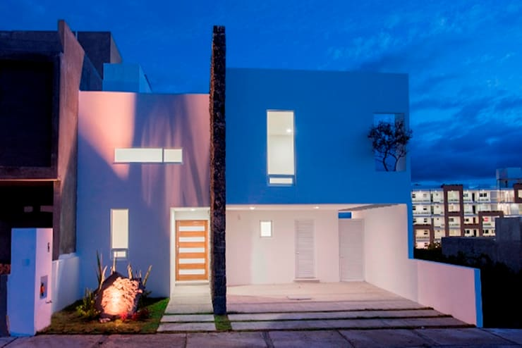 Casas de estilo minimalista por JF ARQUITECTOS