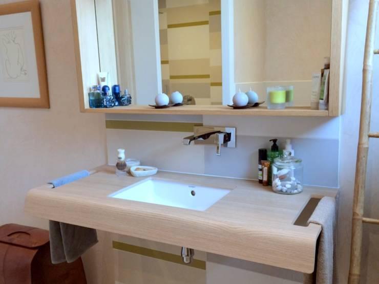 Une grande salle de bain familiale par Bulles & Taille-crayon   homify
