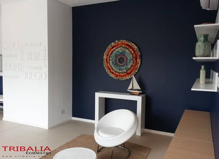 Wollteppiche:  Wohnzimmer von tribalia deco design