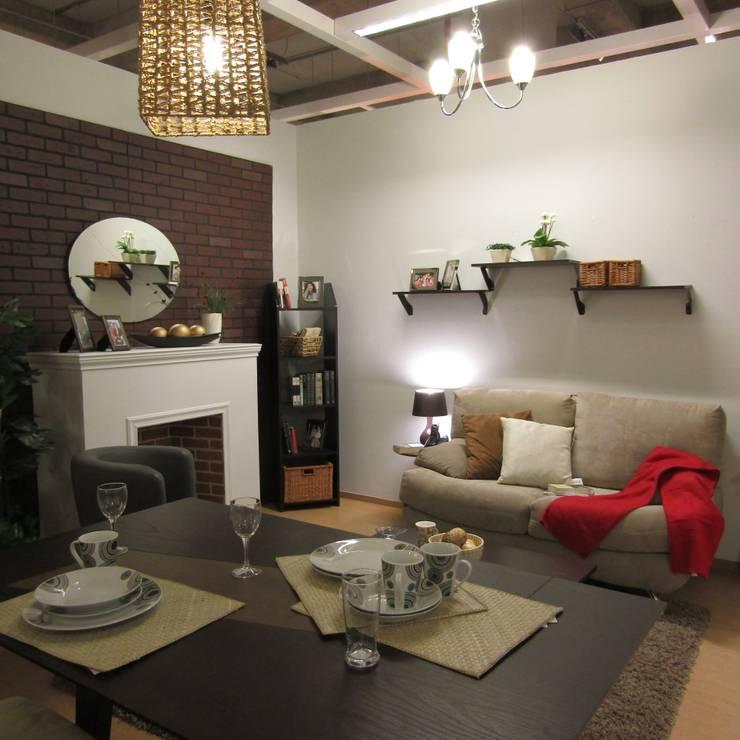 Sala/comedor : Salas de estilo  por Idea Interior