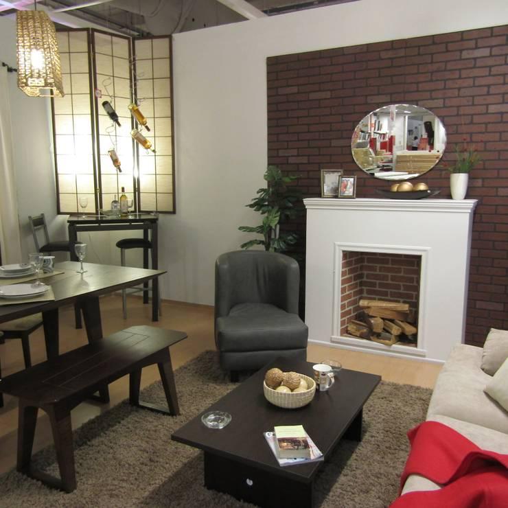 Sala comedor : Salas de estilo  por Idea Interior