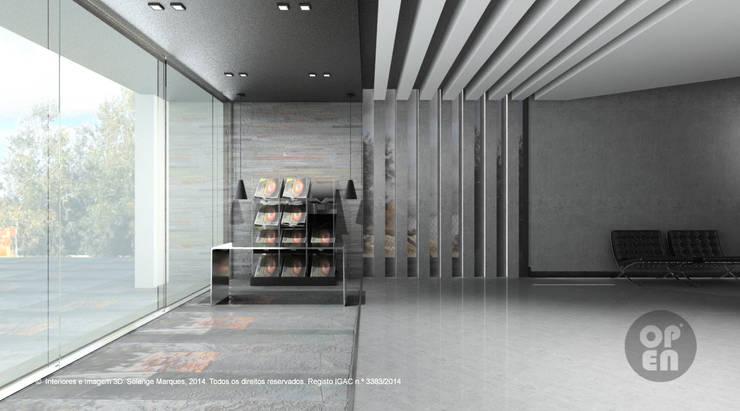Fase 1: Interiores - Observatório do Lago Alqueva (OLA): Locais de eventos  por ATELIER OPEN ® - Arquitetura e Engenharia