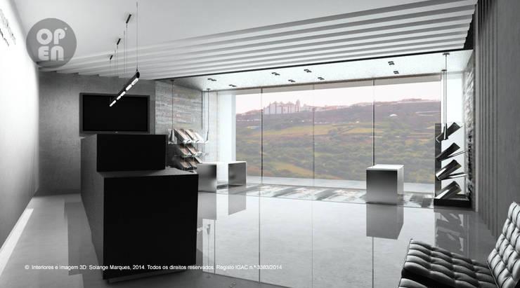 Fase 1: Interiores – Observatório do Lago Alqueva (OLA): Locais de eventos  por ATELIER OPEN ® - Arquitetura e Engenharia