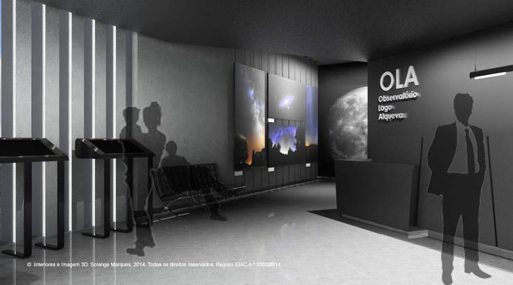 Fase 2: Interiores - Observatório do Lago Alqueva (OLA): Locais de eventos  por ATELIER OPEN ® - Arquitetura e Engenharia