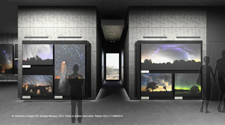 Fase 2: Interiores – Observatório do Lago Alqueva (OLA): Locais de eventos  por ATELIER OPEN ® - Arquitetura e Engenharia