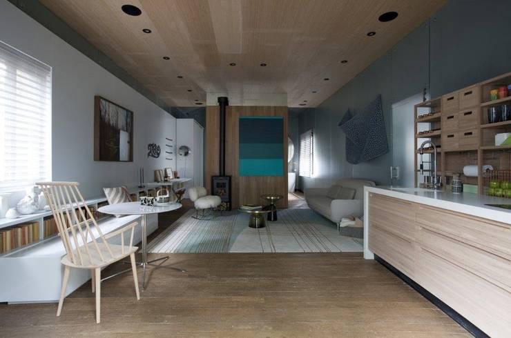 Living: Salas de estar  por Patricia Martinez Arquitetura,Escandinavo