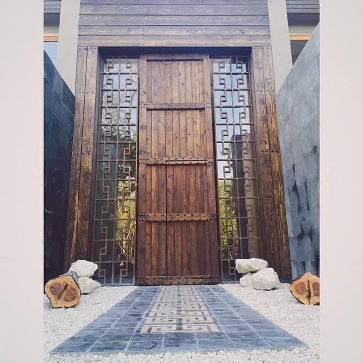 Project in Tulum, Riviera Maya: Casas de estilo  por JCandel