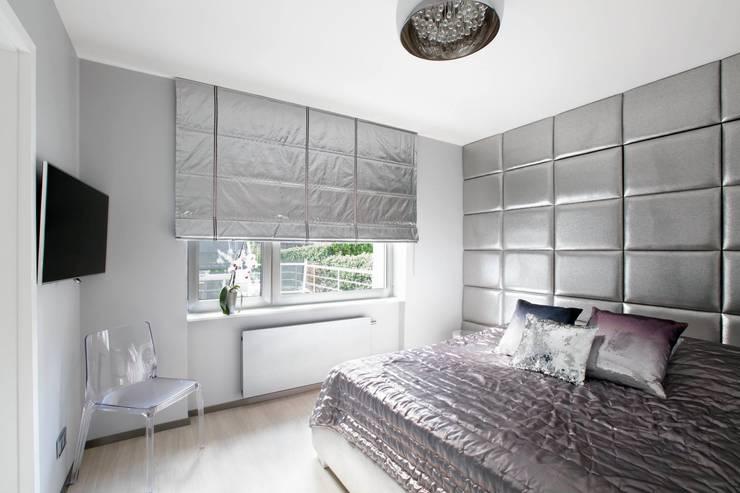 sypialnia: styl , w kategorii Sypialnia zaprojektowany przez TG STUDIO