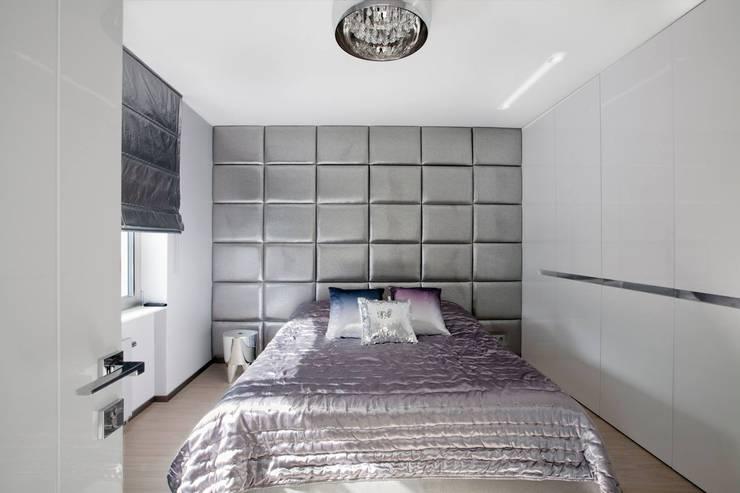 Gdynia Orłowo: styl , w kategorii Sypialnia zaprojektowany przez TG STUDIO